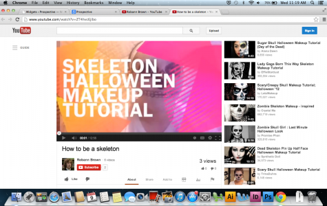 Video: How to Skeleton Makeup