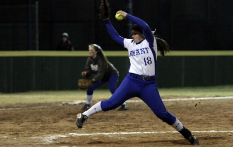Softball opens conference, swings for state