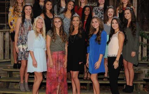Get to Know BHS 2015 Homecoming Maids