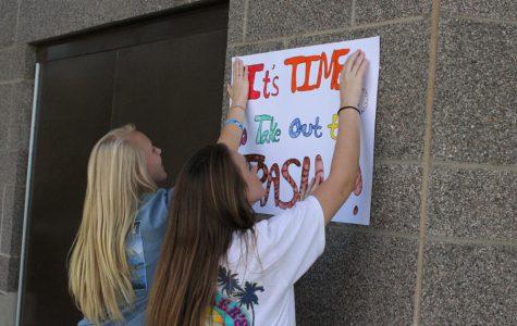 Student Senate Tackles the Trash Problem