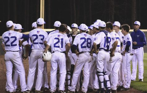 Hornet Baseball's First Game of the Year