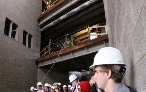 Gallery: Students tour new building