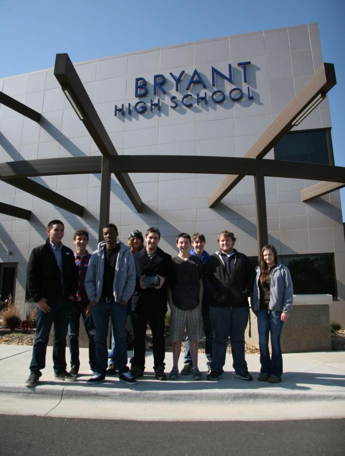 At their national conference, eight EAST students received a Best Technology award. | tony garibay photo