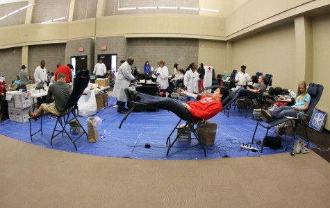 Gallery: Swarm sponsors blood drive March 12