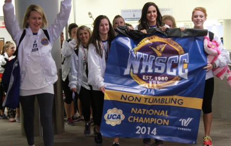 Varsity cheer wins first place at Nationals