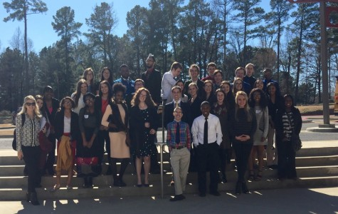 Photo of FBLA members at the conference.  Photo from Mrs. Wingerter