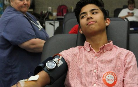 Blood Drive: Participants Give Blood for the Chance to Save a Life