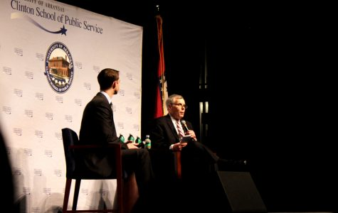 Clinton School Dean Interviews Sen. Tom Cotton