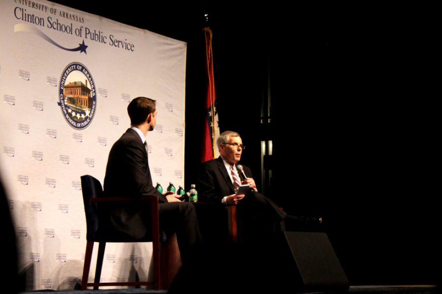 Clinton+School+Dean+Interviews+Sen.+Tom+Cotton
