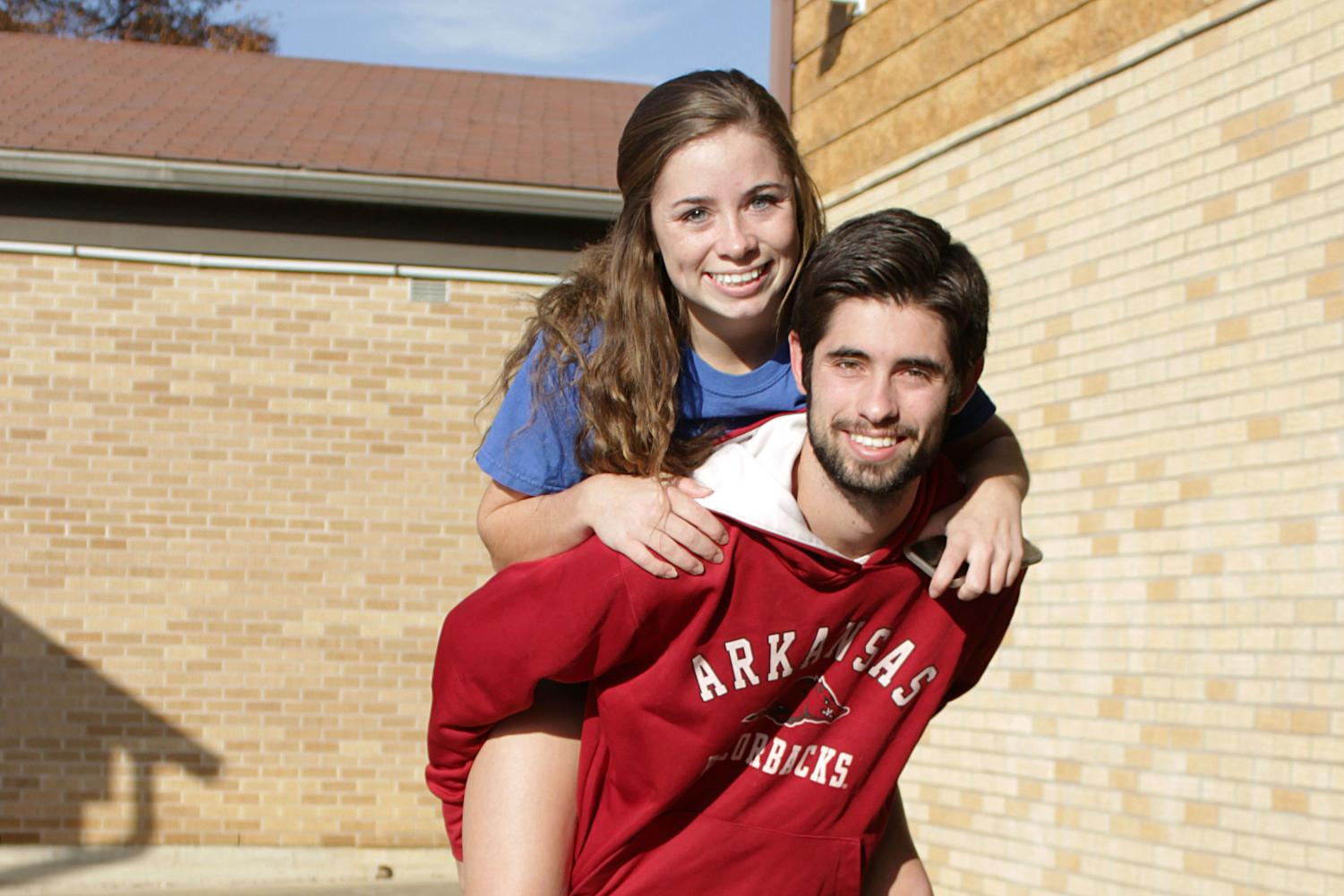 """After losing their mother in 2011, siblings senior Parker Ray and junior Cassady Ray relied on each other for support. """"As siblings, since we've [both] gone through [our mom passing away], we can connect with each other better,"""" Cassaday Ray said. """"It made us bond more because it was so hard and we had to be there for each other."""""""