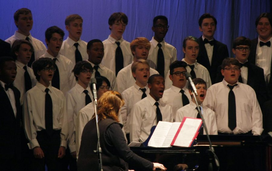 Choir Competes in CPA