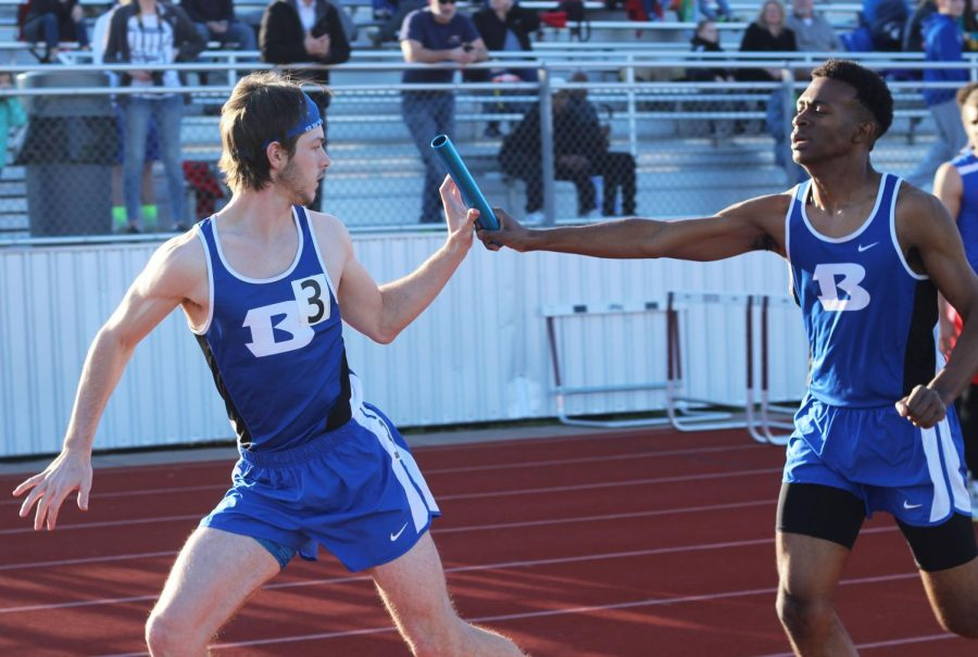 Track and Field Meet at Benton