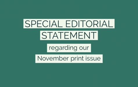 Special Editorial Statement