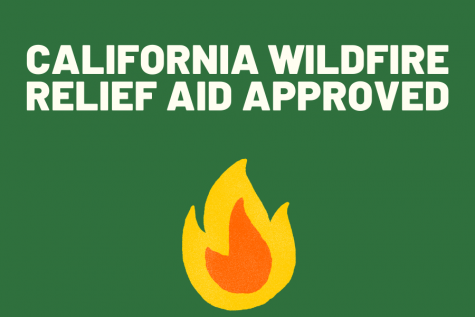 California Wildfire Relief Aid Request Approved
